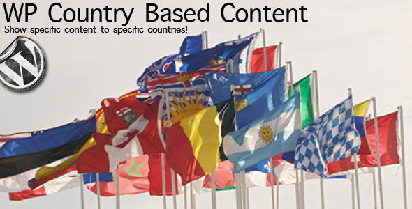 wp country based content