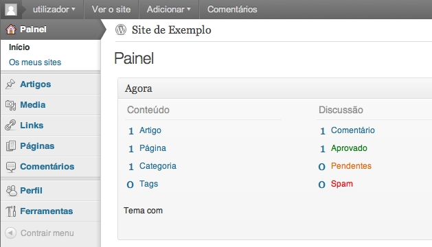 acordion no wordpress
