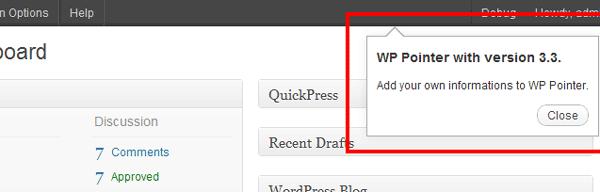 wp-pointer