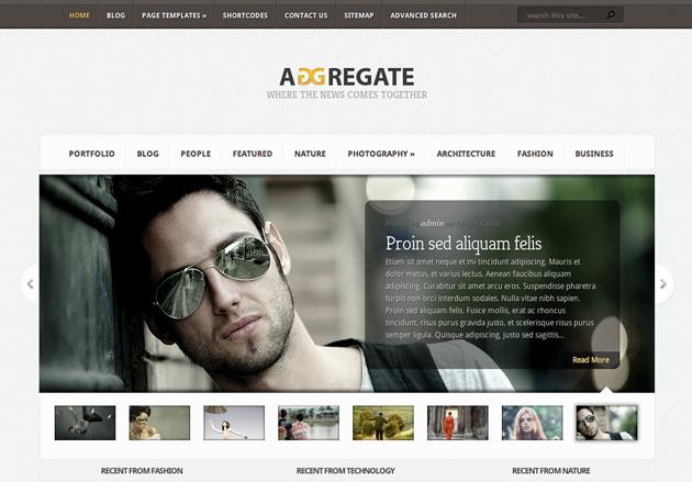 aggregate template