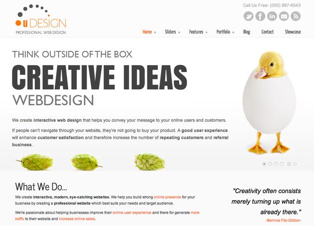 u-design template