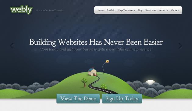 webly template