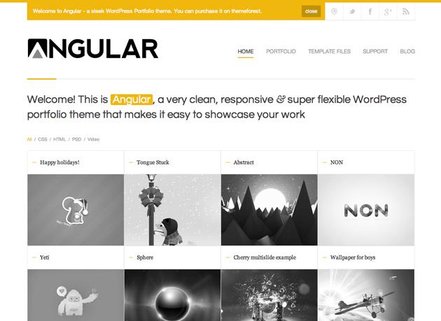 angular template
