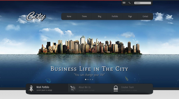 city business template