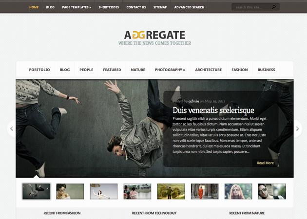 adgregate template