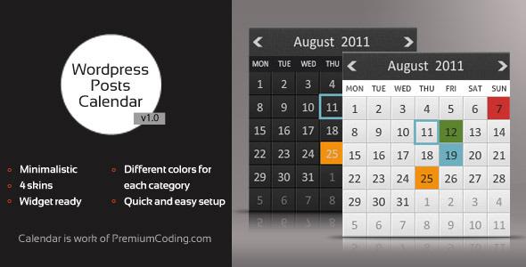 animated posts calendar