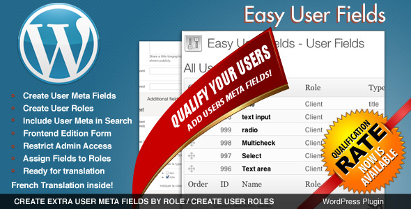 easy user fields