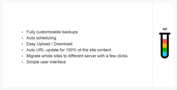 ether backup wordpress
