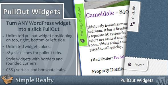 pullout widgets