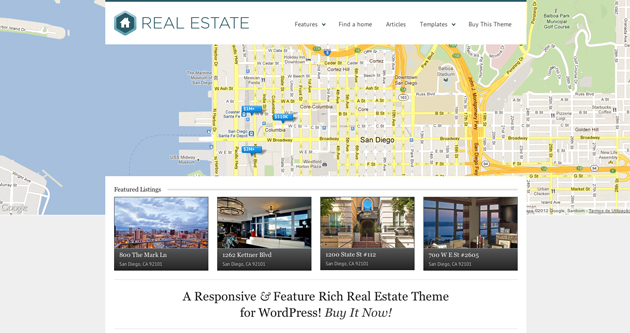 realestate template