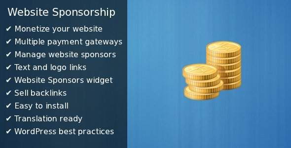 website sponsorship