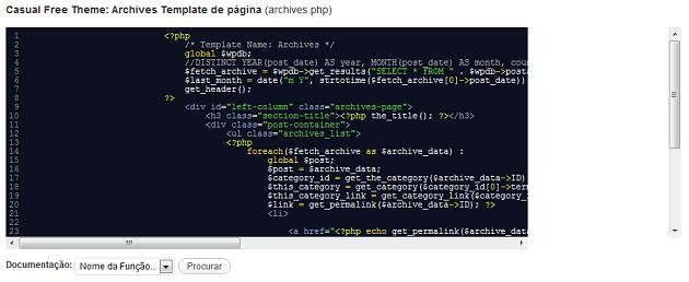Melhore a Interface do Editor de código WordPress com Codemirror