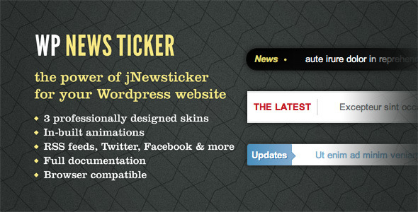 news ticker