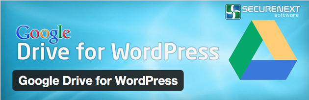 wordpress para google drive