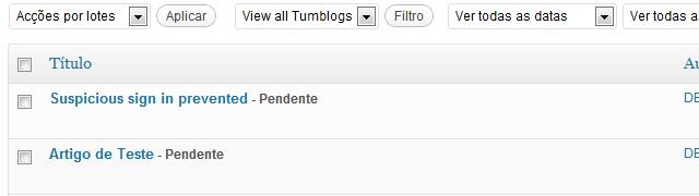 Como criar artigos através de e-mail em WordPress