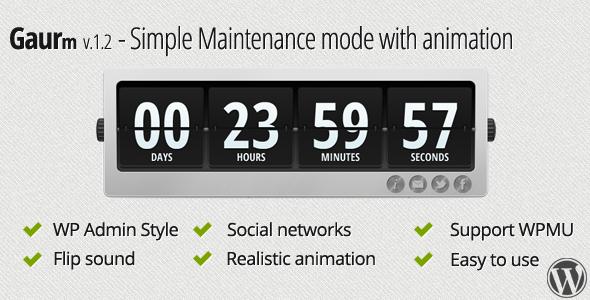 simple maintenance mode