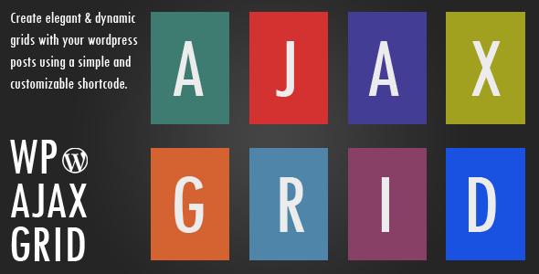 wp ajax grid