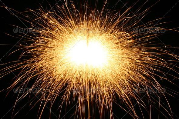 sparks background