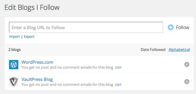 importar blogs