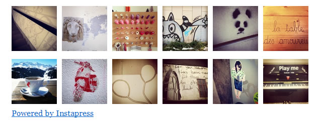 galeria instagram wordpress