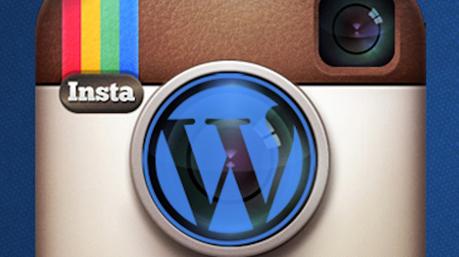 instagram + wordpress