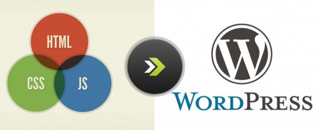 html para wordpress