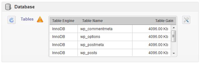 otimizando banco de dados wordpress