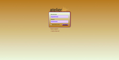 a5-custom-login-page