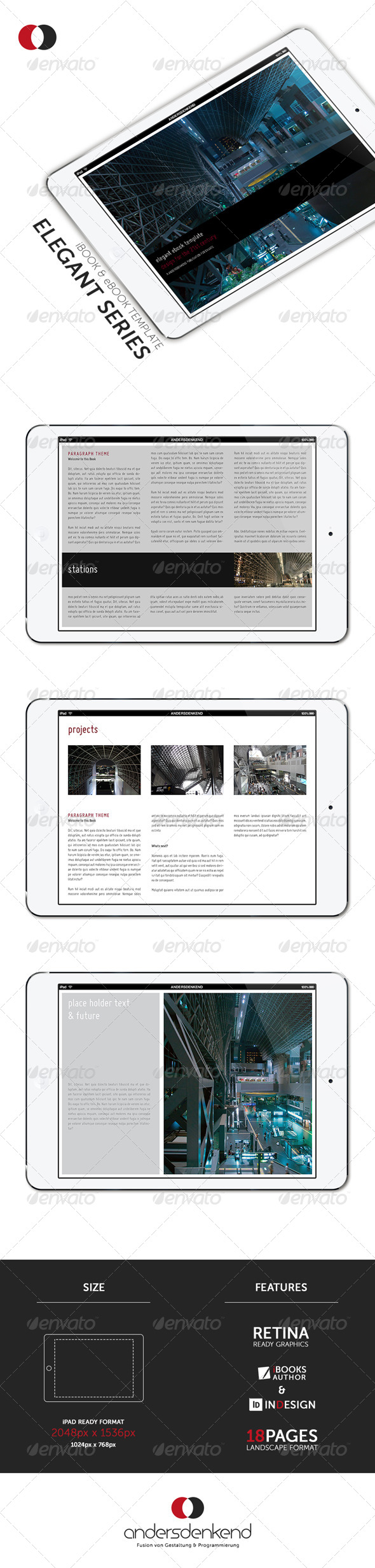 ibook template